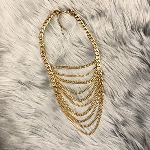 Jewelry - Multilayer Gold color chain necklace